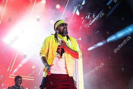 Machel Montano performs at the 2019 Essence Festival at the Mercedes-Benz Superdome, in New Orleans