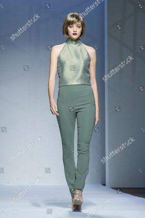 Editorial photo of Sabrina Persechino show, Runway, Fall Winter 2019, Altaroma Fashion Week, Rome, Italy - 05 Jul 2019