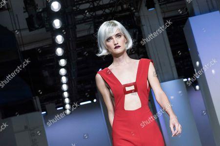 Editorial image of Sabrina Persechino show, Runway, Fall Winter 2019, Altaroma Fashion Week, Rome, Italy - 05 Jul 2019