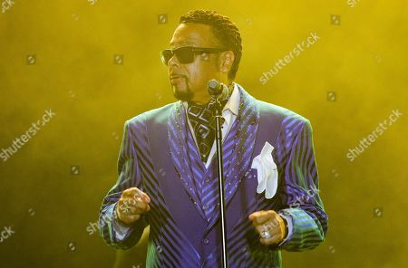 Stock Image of Morris Day performs at the 2019 Essence Festival at the Mercedes-Benz Superdome, in New Orleans