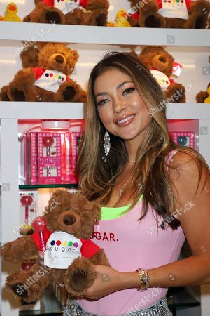Arianny Celeste guest appearance during fight week