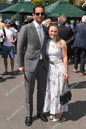 Ben Ainslie and Georgie Thompson