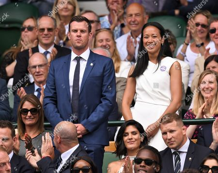 Editorial picture of Wimbledon Tennis Championships, Day 6, The All England Lawn Tennis and Croquet Club, London, UK - 06 Jul 2019