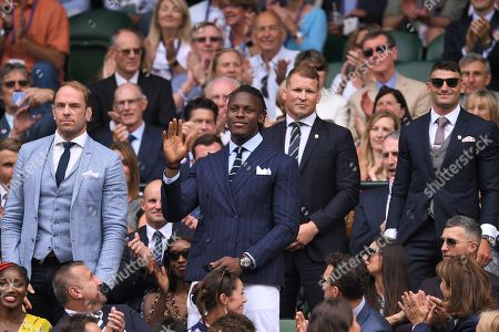 Stock Picture of Maro Itoje and Dylan Hartley on Centre Court