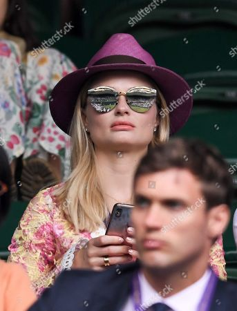 Stock Photo of Emma Rigby on Centre Court