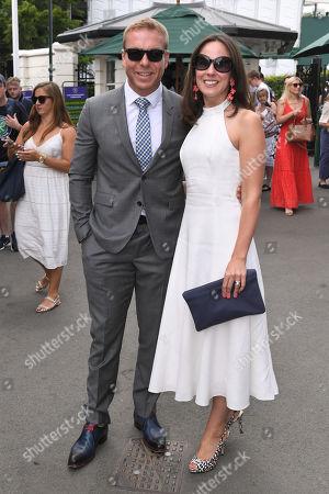 Chris Hoy and Sarra Hoy