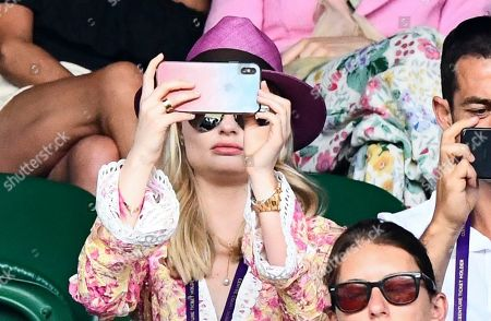 Stock Image of Emma Rigby on Centre Court