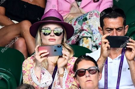 Editorial photo of Wimbledon Tennis Championships, Day 6, The All England Lawn Tennis and Croquet Club, London, UK - 06 Jul 2019