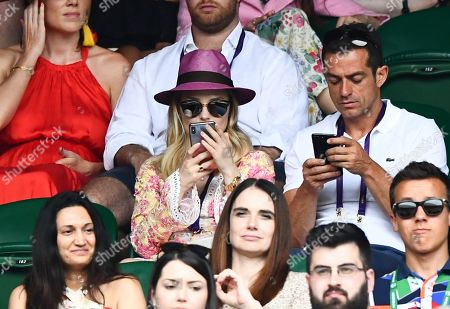 Editorial image of Wimbledon Tennis Championships, Day 6, The All England Lawn Tennis and Croquet Club, London, UK - 06 Jul 2019