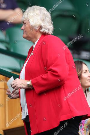 Laura Davies on Centre Court