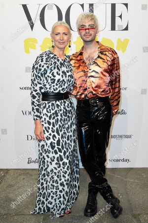 Christiane Arp and Bill Kaulitz