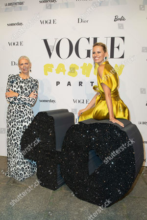 Editorial photo of Vogue celebrates 40 years, Mercedes-Benz Fashion Week, Berlin, Germany - 05 Jul 2019