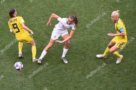 Editorial image of England v Sweden, FIFA Women's World Cup 3rd-4th Play-Off Football, Stade de Nice, France - 06 Jul 2019