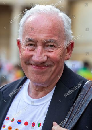 Actor, Simon Callow joins Members of the Lesbian, Gay, Bisexual and Transgender community (LGBT) and their supporters as they gather in central London for the annual Pride parade