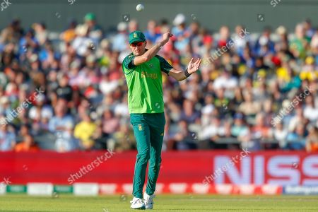Chris Morris of South Africa during the ICC Cricket World Cup 2019 match between Australia and South Africa at Old Trafford, Manchester