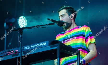 Stock Image of Bastille - Kyle Simmons