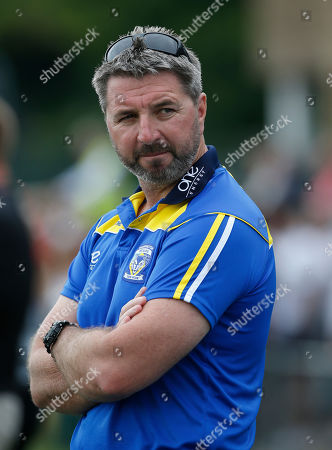 Stock Photo of Steven Price the Warrington Wolves Head Coach