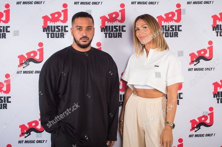 Stock Picture of Slimane and Vitaa