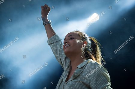 Stock Picture of Amel Bent