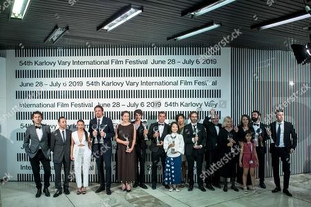 54th Karlovy Vary Film Festival Czech Republic Stock Photos