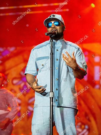Stock Picture of Musiq Soulchild performs at the 2019 Essence Festival at the Mercedes-Benz Superdome, in New Orleans