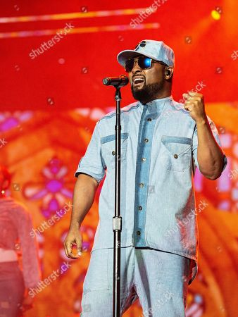Musiq Soulchild performs at the 2019 Essence Festival at the Mercedes-Benz Superdome, in New Orleans