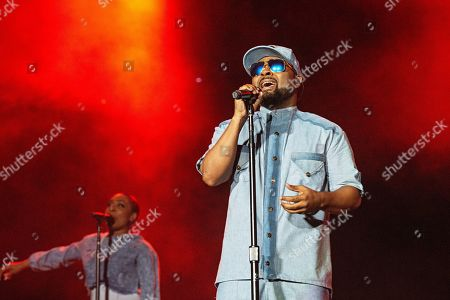 Stock Photo of Musiq Soulchild performs at the 2019 Essence Festival at the Mercedes-Benz Superdome, in New Orleans