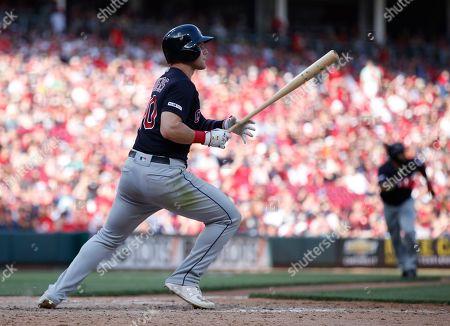 Editorial image of Indians Reds Baseball, Cincinnati, USA - 06 Jul 2019