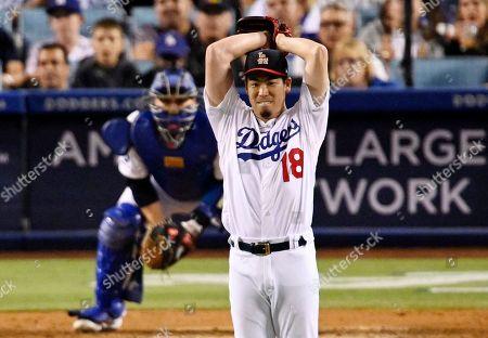 Editorial photo of Padres Dodgers Baseball, Los Angeles, USA - 06 Jul 2019