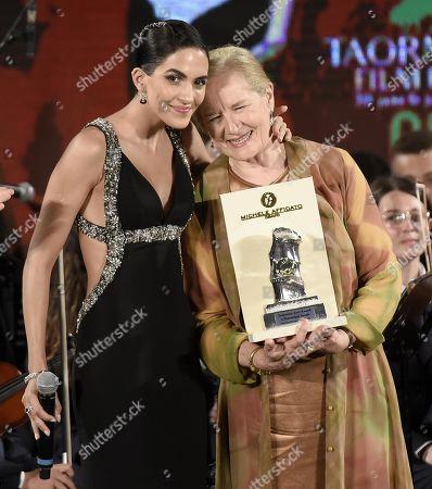 Editorial picture of Taormina Film Fest in Italy - 06 Jul 2019