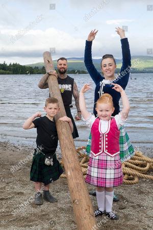 Editorial picture of Loch Lomond Highland Games launch, Dumbarton, Scotland, UK - 05 Jul 2019