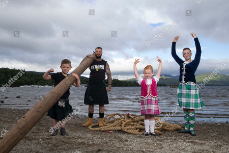Editorial photo of Loch Lomond Highland Games launch, Dumbarton, Scotland, UK - 05 Jul 2019
