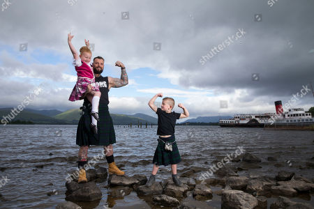 A Balloch schoolboy flexed his muscle with one of West Dunbartonshire's strongest men as this year's Highland Games was officially launched this week. Young Jack, 5, showed heavyweight Thomas Graham what he was made of for one of the event's most popular competitions ' tossing the caber.... The pair were joined by dancers Kristie Scott, 14, and Ella Potter, 5, both from Lacey Brown School of Dance, who will compete in the Highland dancing competition.