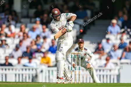 Ben Foakes of Surrey batting during the Specsavers County Champ Div 1 match between Surrey County Cricket Club and Kent County Cricket Club at the Kia Oval, Kennington