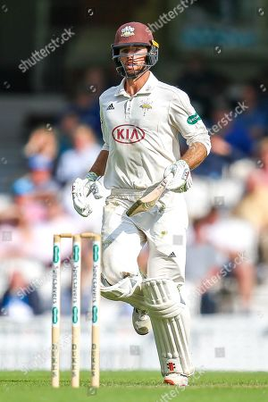 Ben Foakes of Surrey during the Specsavers County Champ Div 1 match between Surrey County Cricket Club and Kent County Cricket Club at the Kia Oval, Kennington