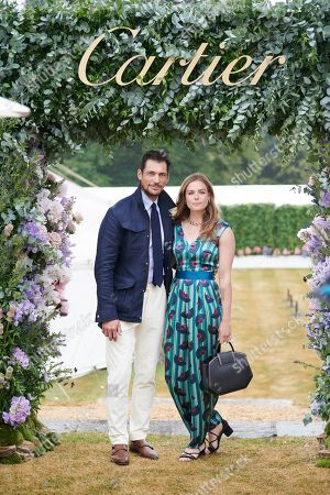 David Gandy and Rosie Tapner