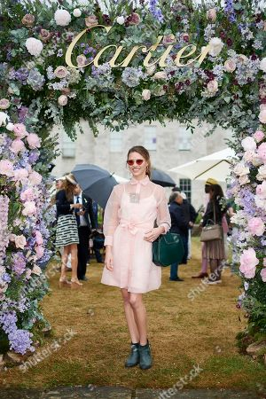 Editorial image of Goodwood Festival of Speed, 'Cartier Style Et Luxe' enclosure, West Sussex, UK - 07 Jul 2019