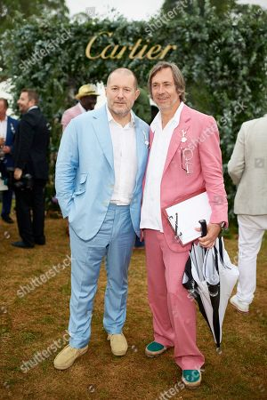 Jony Ive and Marc Newson