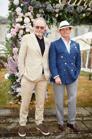 Liam Cunningham and Gerry McGovern