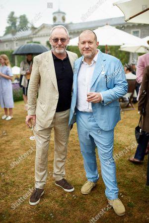 Liam Cunningham and Jony Ive
