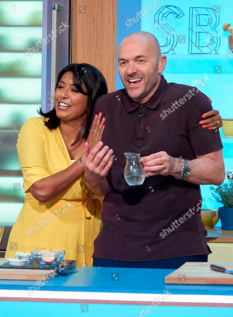 Sunetra Sarker and Simon Rimmer