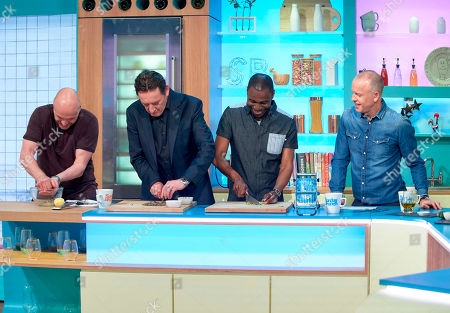 The Lighthouse Family - Paul Tucker and Tunde Baiyewu with Tim Lovejoy and Simon Rimmer