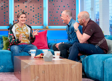 Josie Long, Tim Lovejoy and Simon Rimmer