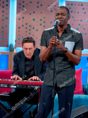 Stock Picture of The Lighthouse Family - Paul Tucker and Tunde Baiyewu