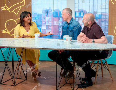 Sunetra Sarker, Tim Lovejoy and Simon Rimmer