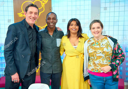 The Lighthouse Family - Paul Tucker and Tunde Baiyewu with Sunetra Sarker and Josie Long