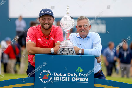 Stock Image of Jon Rahm with Paul McGinley