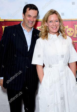 Tony Gardner and Anna Crilly