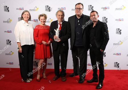 Stock Picture of Gina Marsh, Monica Dolan, Stephen Frears, Russell T Davies  and Dan Winch Presented by Steve Pemberton & Reece Shearsmith