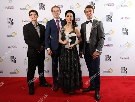 Antonio Castilla, Henry Dowden, Tamara Rojo CBE and Joshua McSherry-Grey
